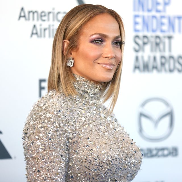 santa monica, california   february 08 jennifer lopez attends the 2020 film independent spirit awards on february 08, 2020 in santa monica, california photo by phillip faraonegetty images
