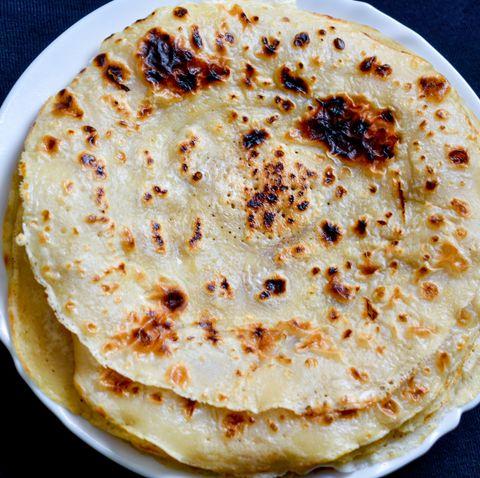 traditional somali flat pancake known as sabaayad