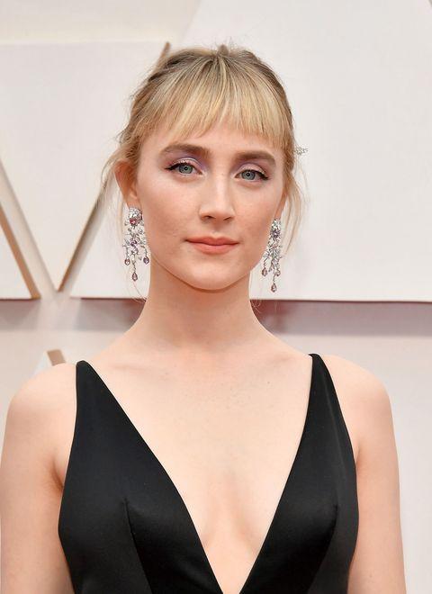 Actrice Saoirse Ronan bij de Oscars 2020