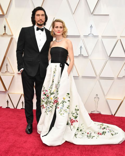 couples on the red carpet - oscars 2020