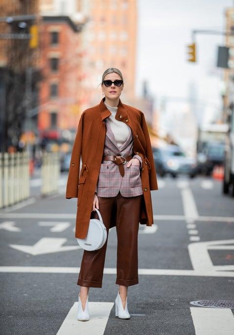 Clothing, Street fashion, Photograph, Fashion, Brown, Snapshot, Coat, Tan, Outerwear, Footwear,