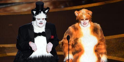 James Corden Rebel Wilson Oscars Cats