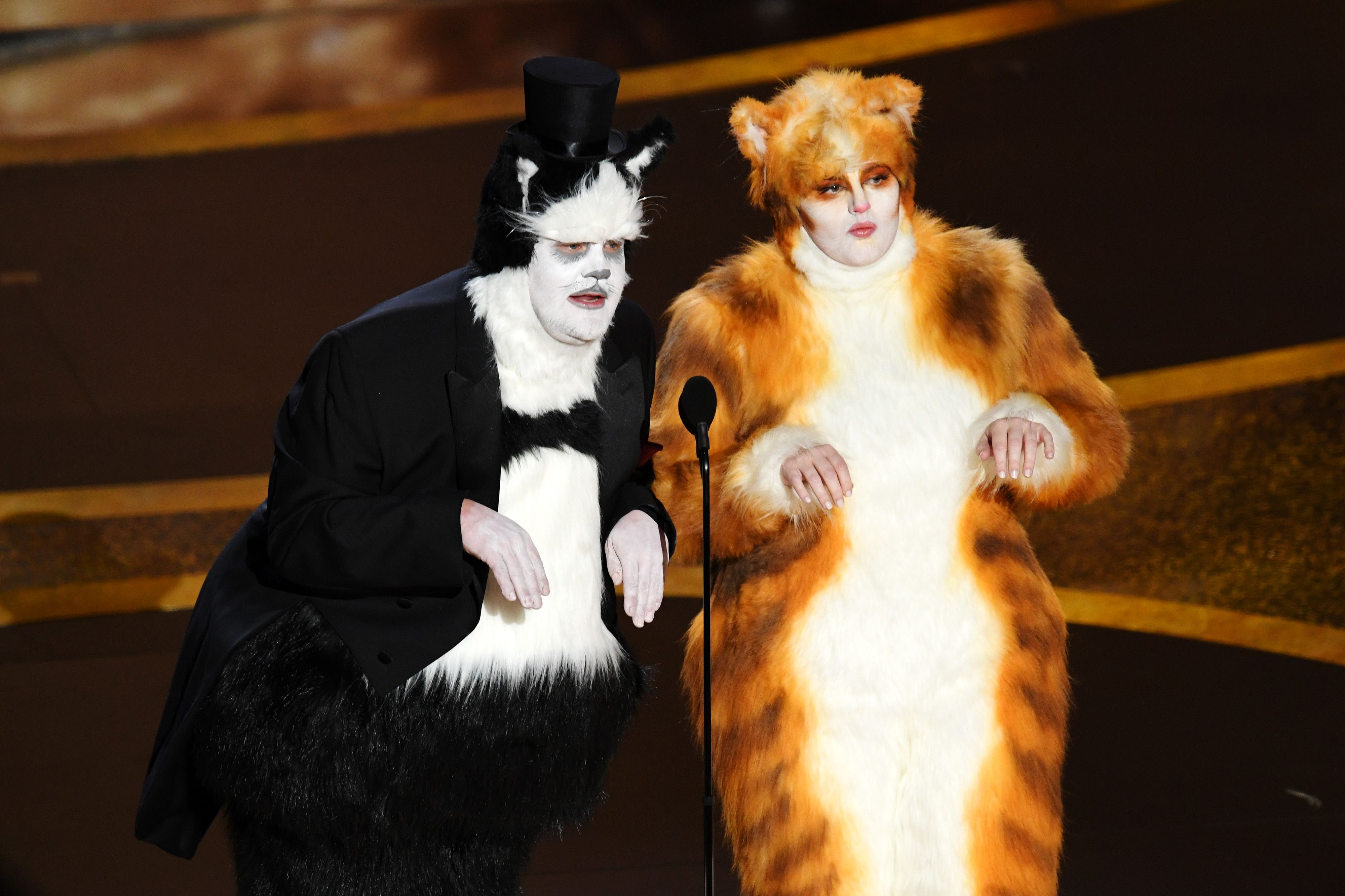 James Corden and Rebel Wilson Sparked More Cats Drama With Their Oscars Joke