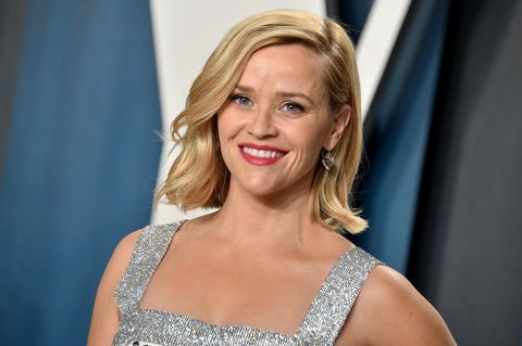 beverly hills, california   february 09 reese witherspoon attends the 2020 vanity fair oscar party hosted by radhika jones at wallis annenberg center for the performing arts on february 09, 2020 in beverly hills, california photo by gregg deguirefilmmagic