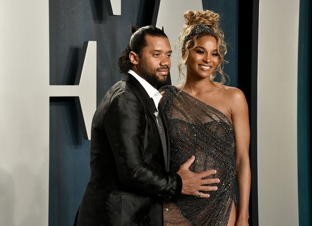 beverly hills, california   february 09 l r russell wilson and ciara attend the 2020 vanity fair oscar party hosted by radhika jones at wallis annenberg center for the performing arts on february 09, 2020 in beverly hills, california photo by frazer harrisongetty images