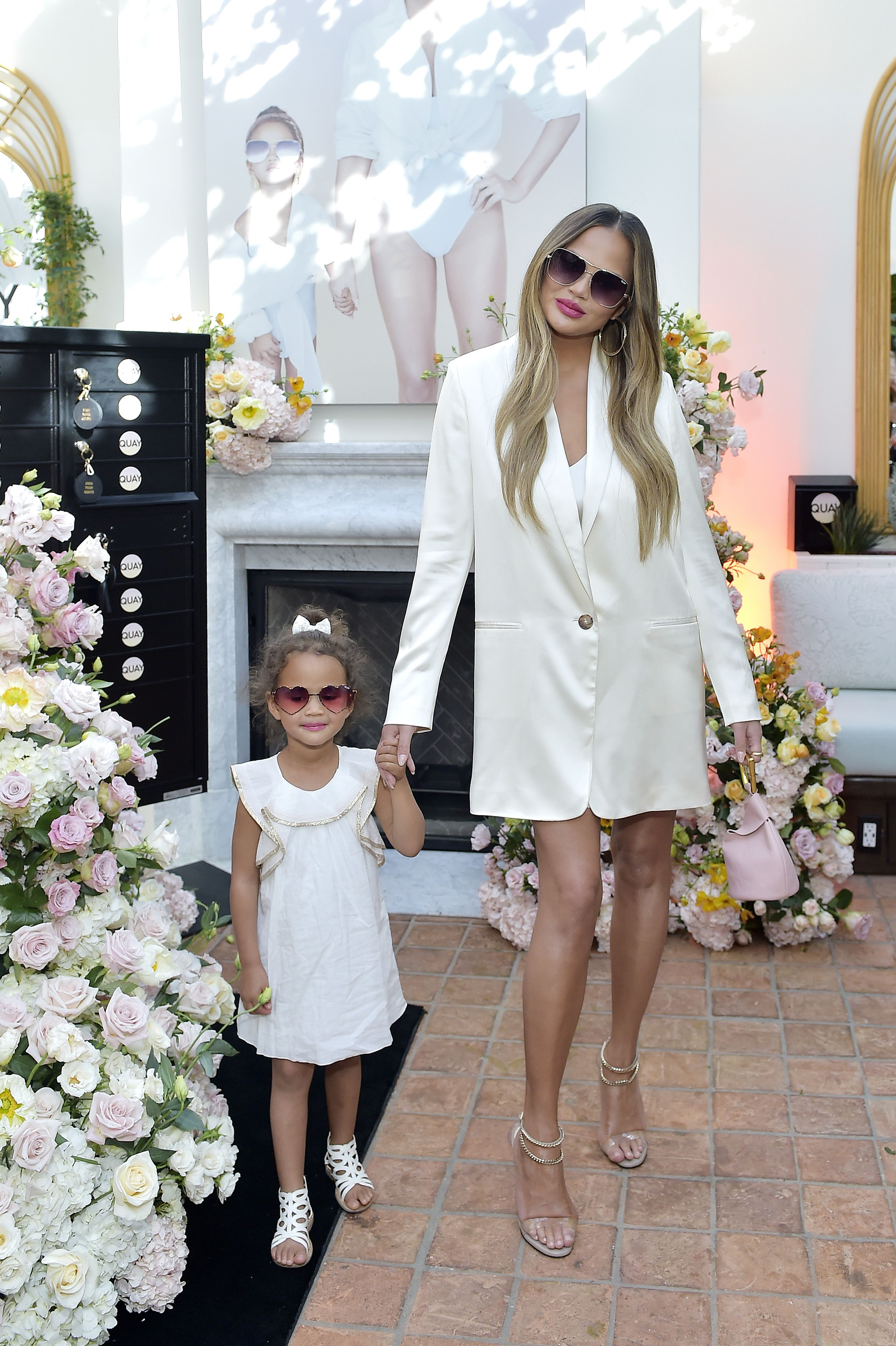 Chrissy Teigen's Daughter Demands a Haircut From Jen Atkin for $5