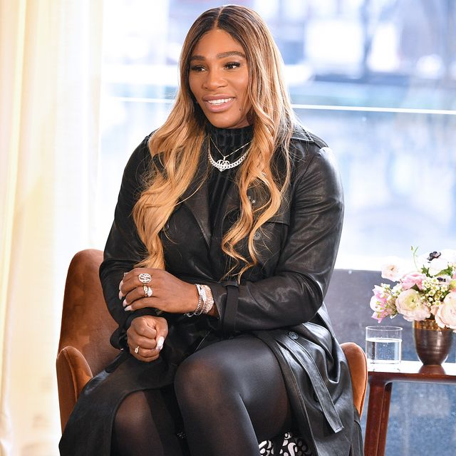 new york, new york   february 12 designer serena williams speaks at the s by serena presentation during new york fashion week the shows at spring place on february 12, 2020 in new york city photo by dia dipasupilgetty images