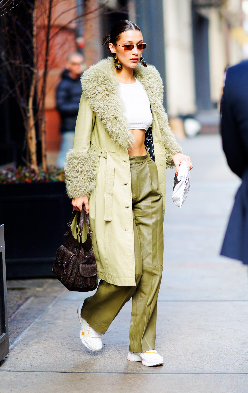 Bella Hadid Street Style - Bella Hadids Hottest Looks