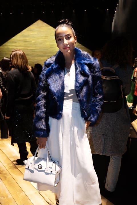 Fashion, Fur, Fur clothing, Clothing, Fashion model, Street fashion, Fashion show, Runway, Outerwear, Event,