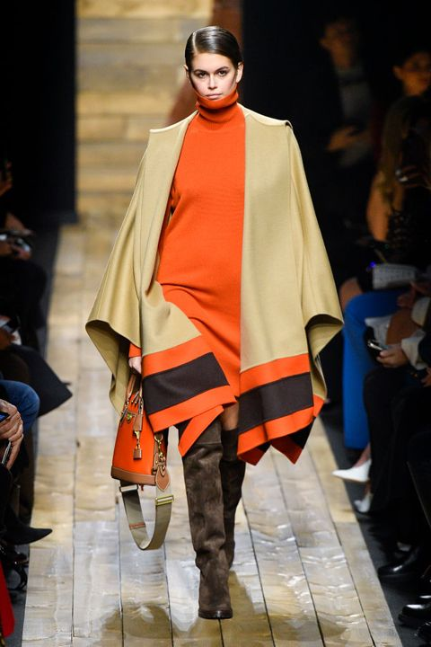 new york, new york   february 12 kaia gerber walks the runway at the michael kors ready to wear fallwinter 2020 2021 fashion show on february 12, 2020 in new york city photo by victor virgilegamma rapho via getty images