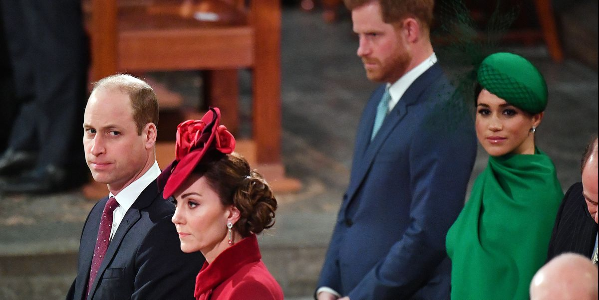 A Lip Reader Figured Out What Prince William Said to Kate Middleton at the Sussexes' Final Royal Engagement