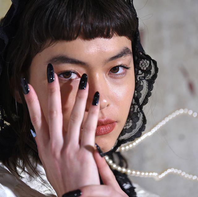 Yuhan Wang - Backstage - LFW February 2020