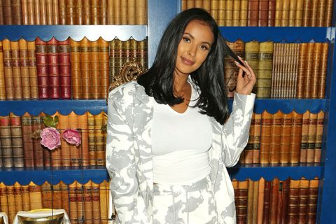 london, england   march 10  maya jama attends ttya londons we move supper club dinner at bagatelle on march 10, 2020 in london, england  photo by david m benettdave benettgetty images
