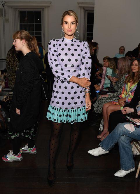 Fashion, Clothing, Event, Fashion design, Dress, Footwear, Fashion show, Design, Outerwear, Pattern,