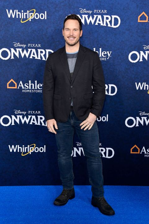 hollywood, california   february 18 chris pratt attends the premiere of disney and pixars onward on february 18, 2020 in hollywood, california photo by frazer harrisongetty images