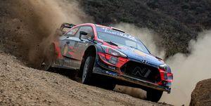 FIA World Rally Championship Mexico - Day Two