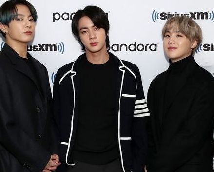 new york, new york   february 21 k pop boy band bts visit the siriusxm studios on february 21, 2020 in new york city photo by cindy ordgetty images for siriusxm