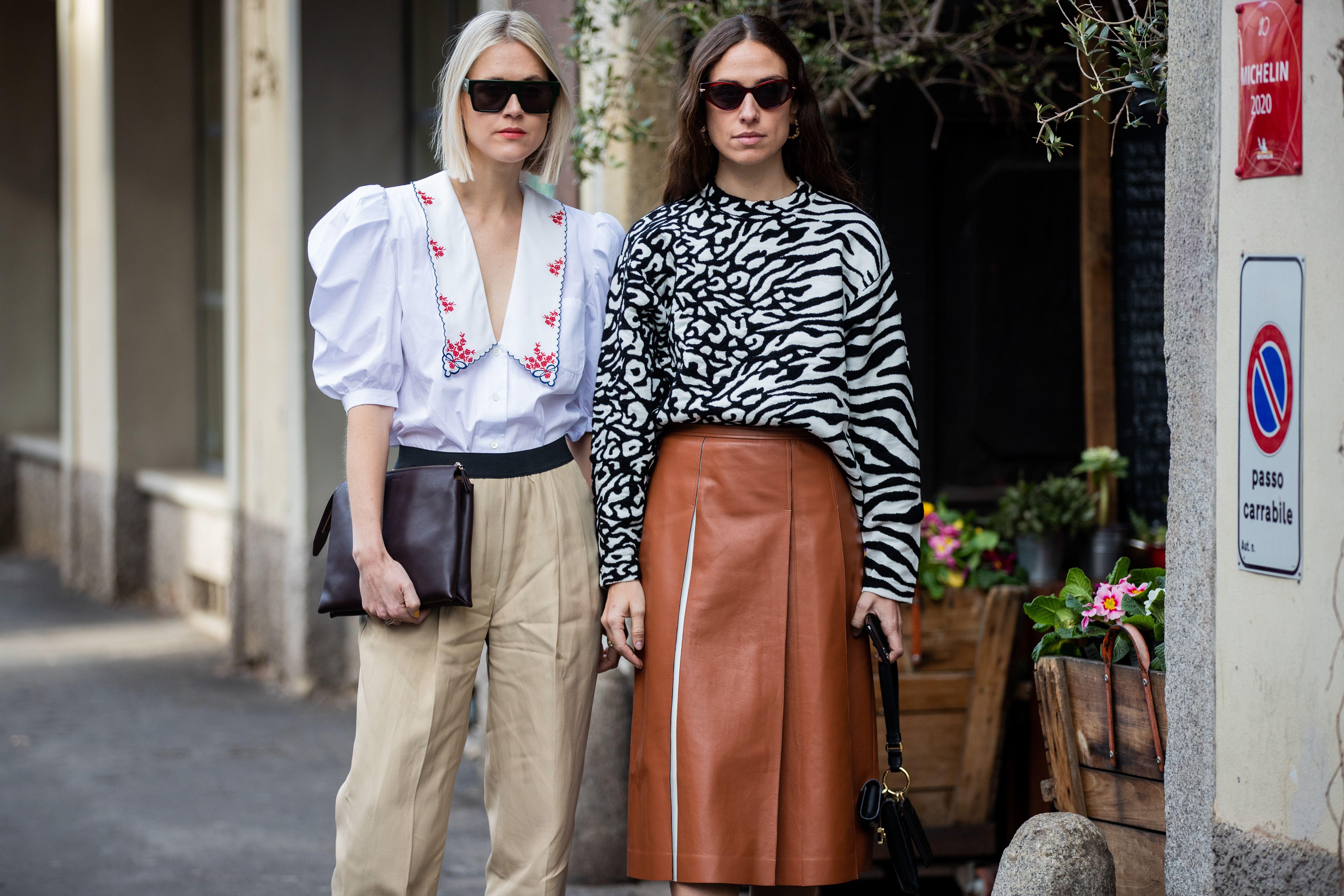 Zara tiene la camisa de cuello bobo favorita de las fashionistas