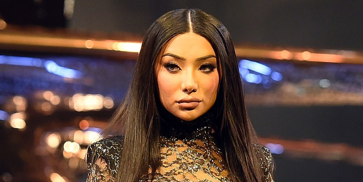 Nikita Dragun Fell Down on the Runway at Fashion Week and Her Reaction is Priceless