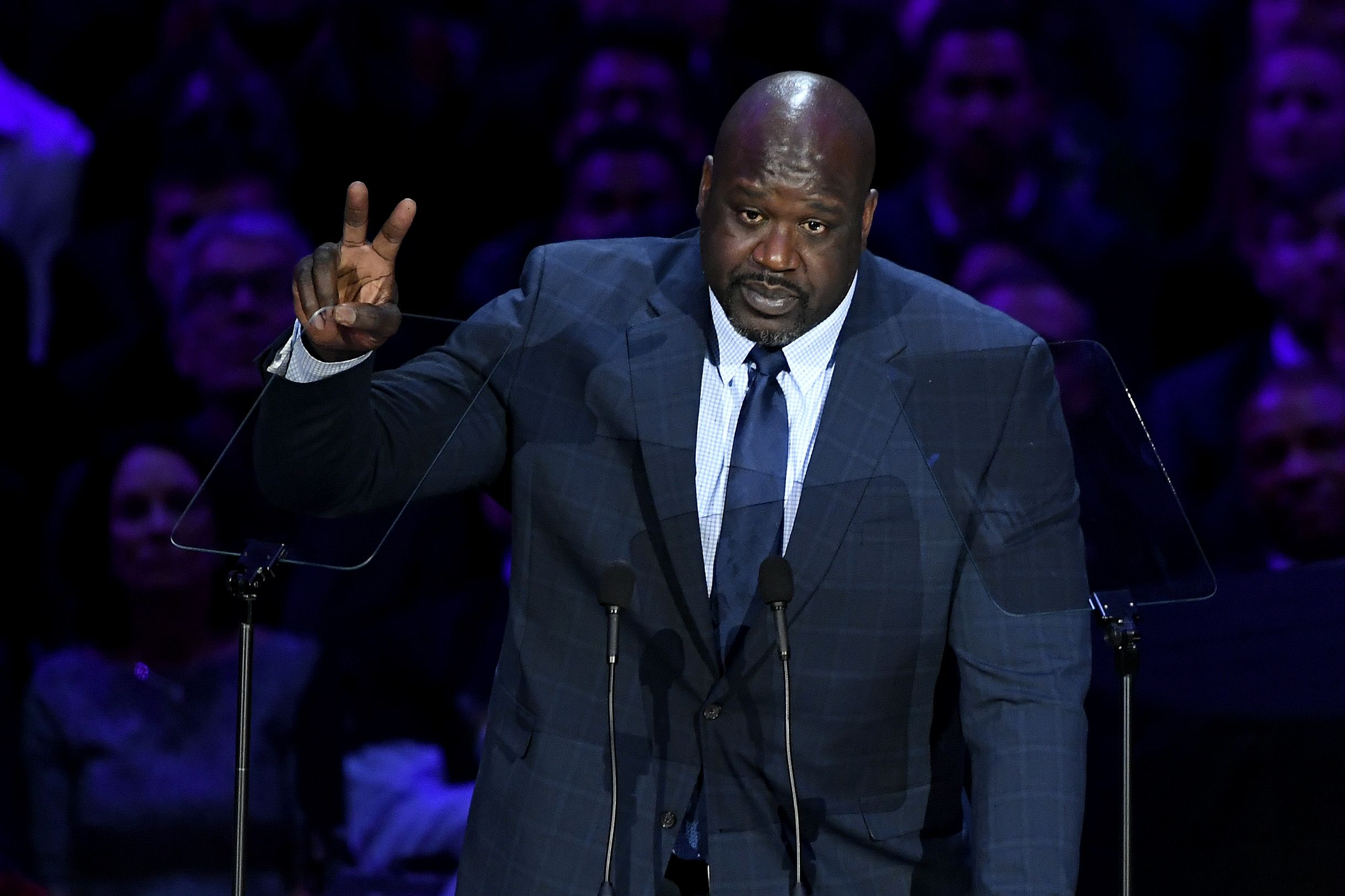 Shaq Brought His Signature Humor—and Heart—to Kobe and Gigi Bryant's Memorial Service