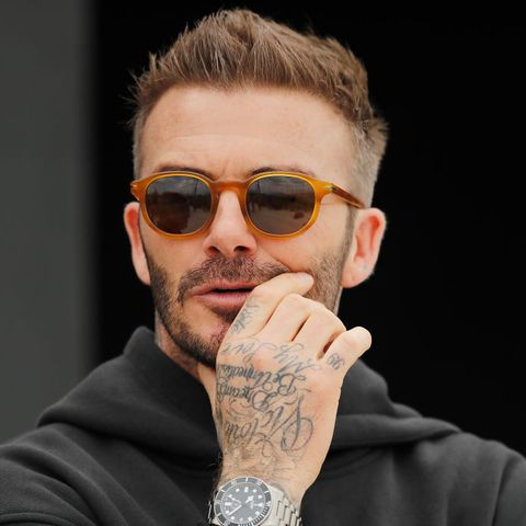 fort lauderdale, florida   february 25  owner and president of soccer operations david beckham looks on ahead of inter miami cfs inaugural match on march 1st against lafc, during media availability at inter miami cf stadium on february 25, 2020 in fort lauderdale, florida photo by michael reavesgetty images