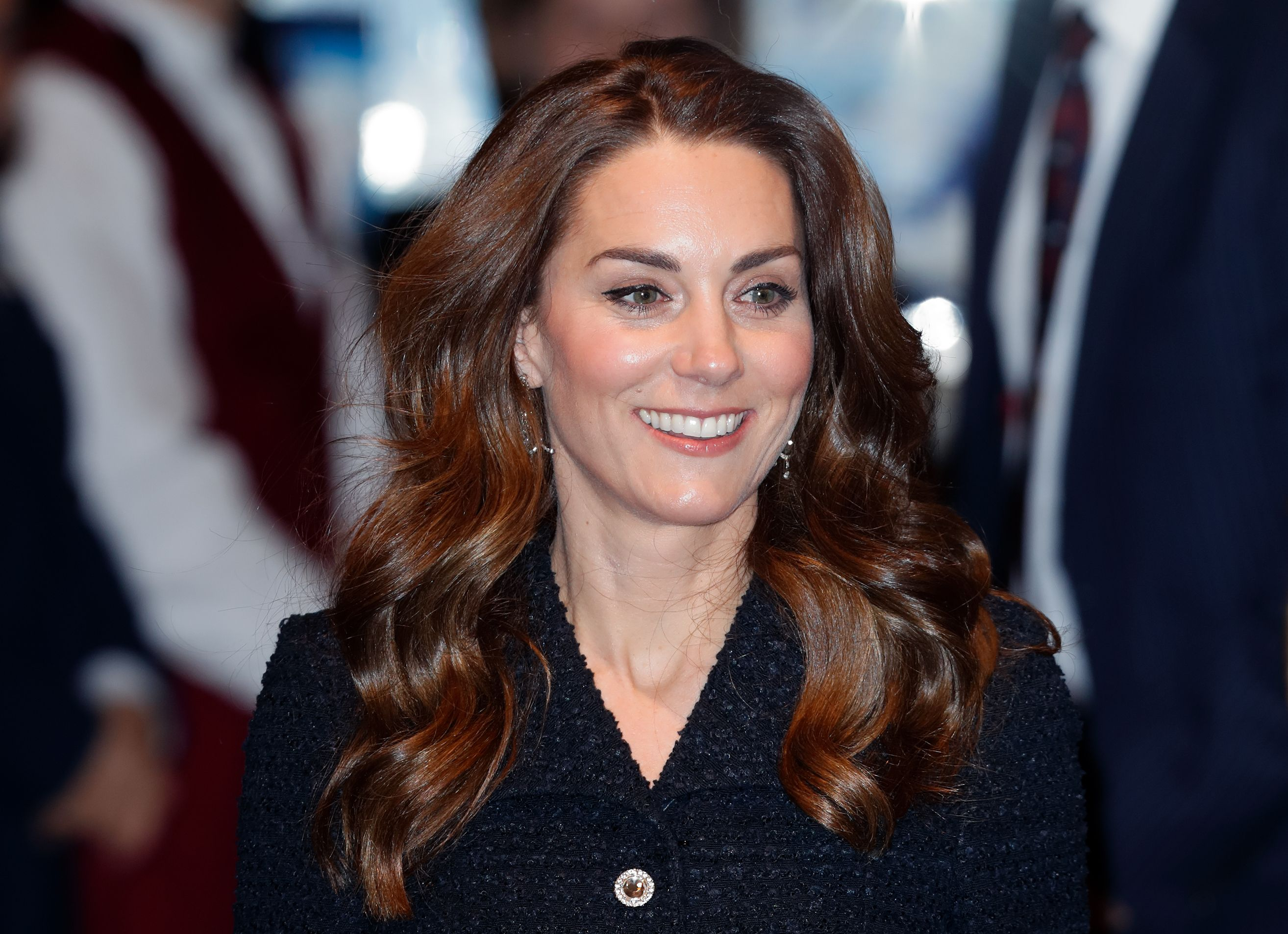 Kate Middleton Wears All The Sparkles For Rare Date Night Out At The Theatre