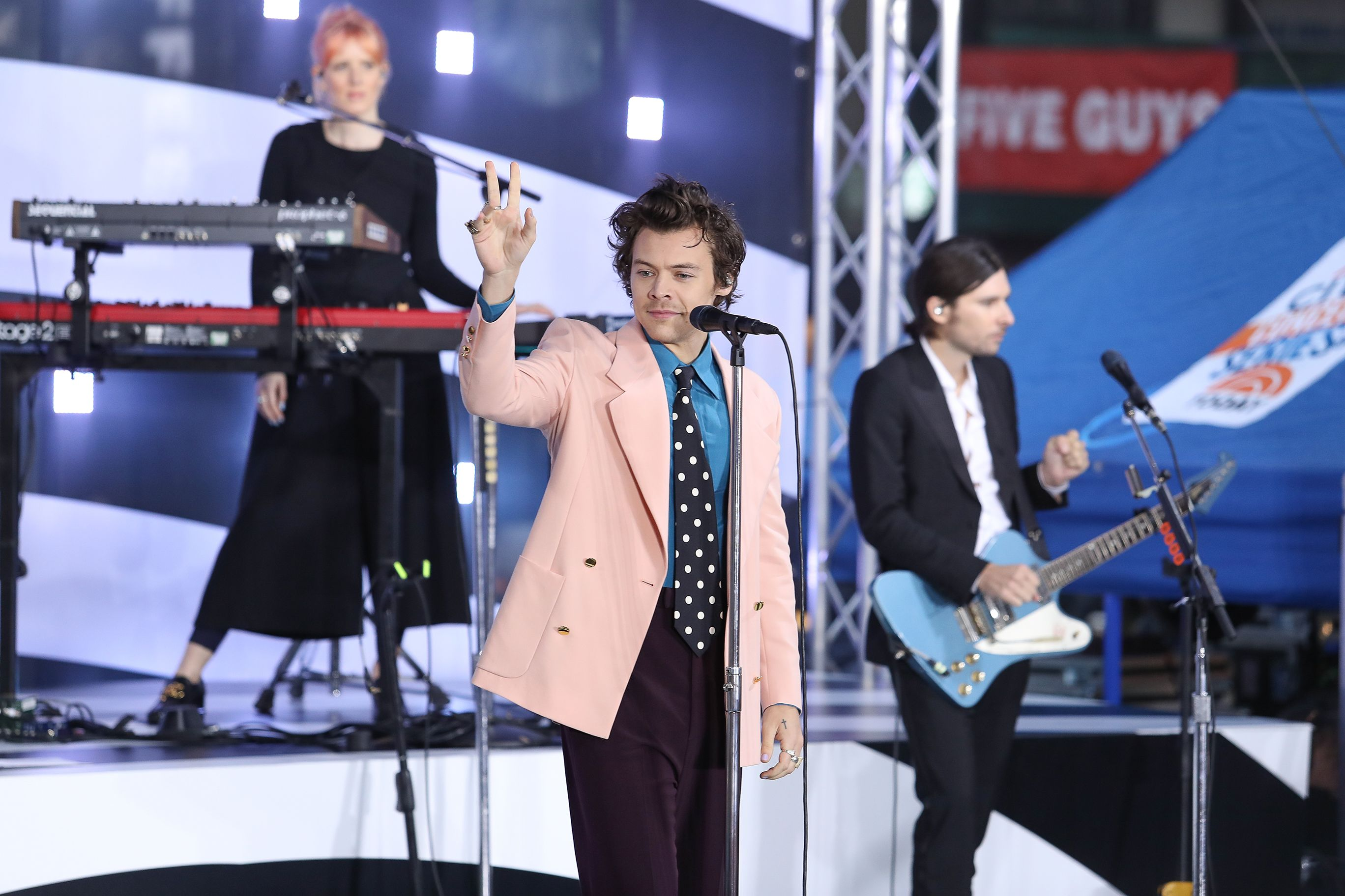 Harry Styles Is Dressed Like The Man Your Grandma Secretly Obsessed Over