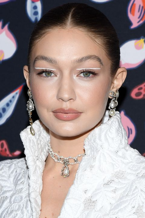 paris, france   february 26 editorial use only gigi hadid attends the harpers bazaar exhibition as part of the paris fashion week womenswear fallwinter 20202021 at musee des arts decoratifs on february 26, 2020 in paris, france photo by pascal le segretaingetty images