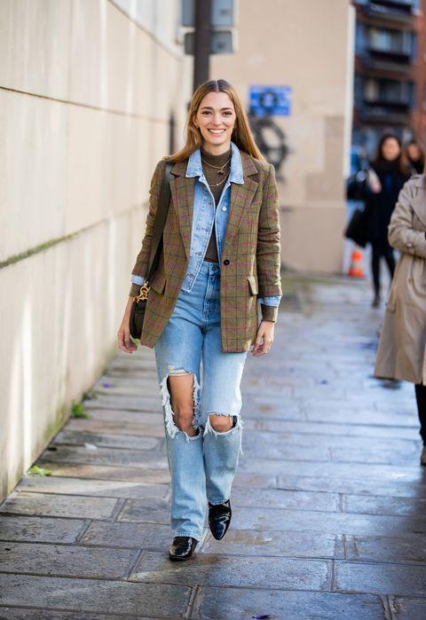 Clothing, Street fashion, Photograph, Jeans, Fashion, Coat, Snapshot, Denim, Footwear, Outerwear,