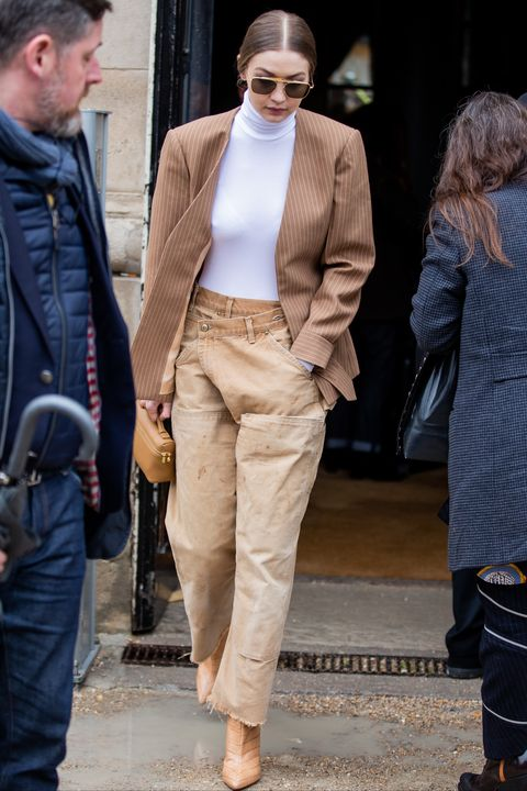 gigi hadid street style outfit 2019