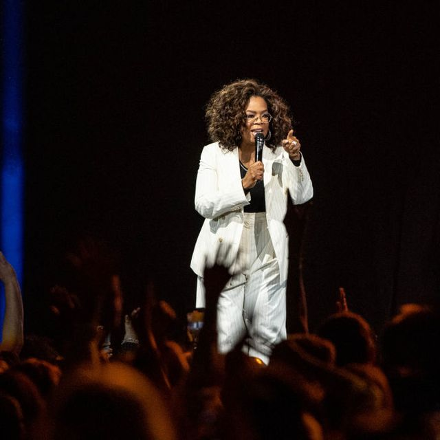 inglewood, california   february 29 oprah speaks onstage during oprahs 2020 vision your life in focus tour presented by ww weight watchers reimagined at the forum on february 29, 2020 in inglewood, california photo by emma mcintyregetty images