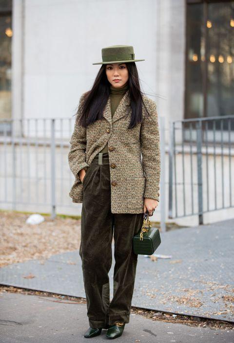 pantaloni in velluto moda autunno inverno 2020 2021