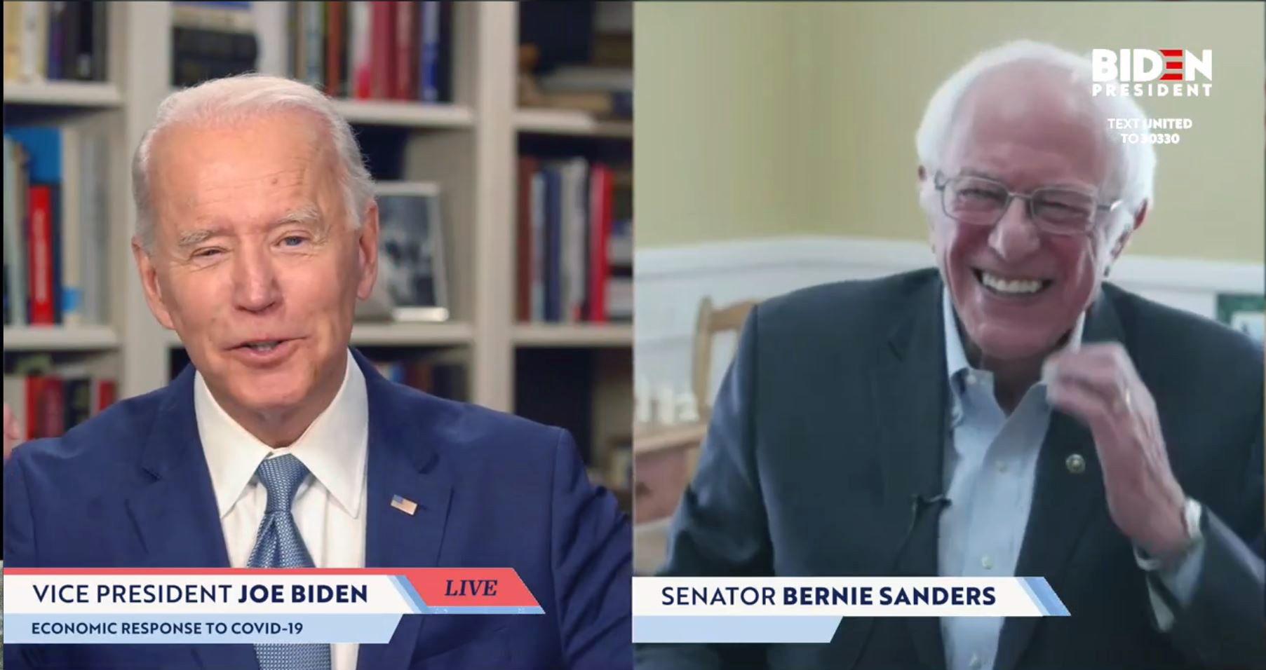 Bernie Sanders's Endorsement of Joe Biden Was a Public Demonstration of Their Common Goal