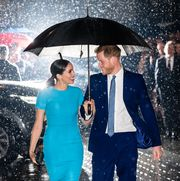 london, england   march 05 prince harry, duke of sussex and meghan, duchess of sussex attend the endeavour fund awards at mansion house on march 05, 2020 in london, england photo by samir husseinwireimage