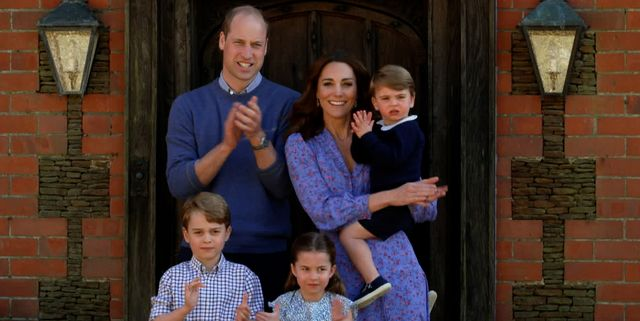 london, england   april 23 in this screengrab, prince william, duke of cambridge, catherine duchess of cambridge, prince george of cambridge, princess charlotte of cambridge and prince louis of cambridge clap for nhs carers as part of the bbc children in need and comic relief big night in at london on april 23, 2020 in london, englandthe big night in brings the nation an evening of unforgettable entertainment in a way weve never seen before raising money for and paying tribute to those on the front line fighting covid 19 and all the unsung heroes supporting their communities photo by comic reliefbbc children in needcomic relief via getty images