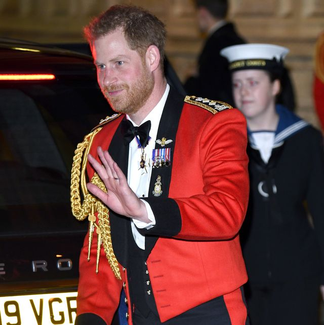 london, england   march 07  prince harry, duke of sussex accompanied by meghan, duchess of sussex attends the mountbatten festival of music at royal albert hall on march 07, 2020 in london, england photo by karwai tangwireimage