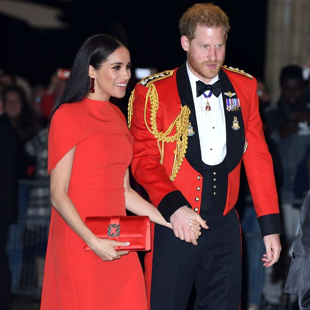 london, england   march 07 prince harry, duke of sussex and meghan, duchess of sussex attend the mountbatten festival of music at royal albert hall on march 07, 2020 in london, england photo by karwai tangwireimage