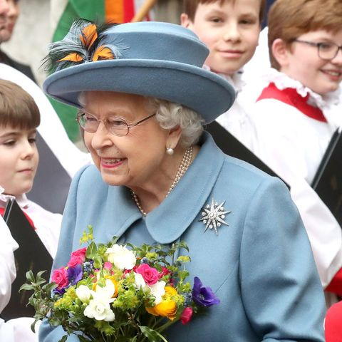 london, england   march 09 hm queen elizabeth ii attends the commonwealth day service 2020 on march 09, 2020 in london, england photo by chris jacksongetty images