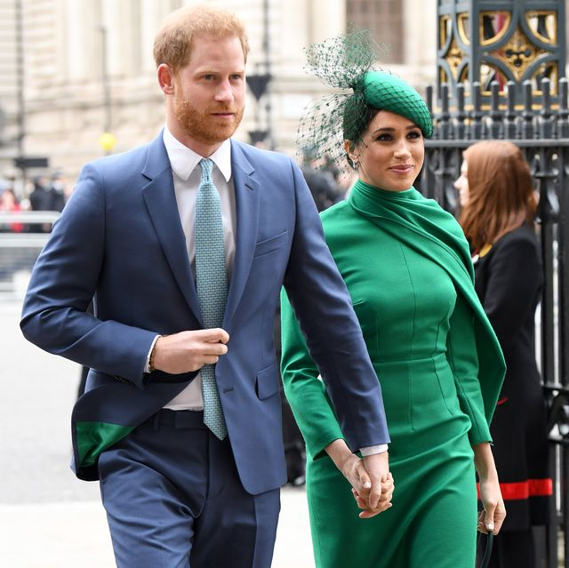 london, england   march 09 prince harry, duke of sussex and meghan, duchess of sussex attend the commonwealth day service 2020 at westminster abbey on march 09, 2020 in london, england photo by karwai tangwireimage