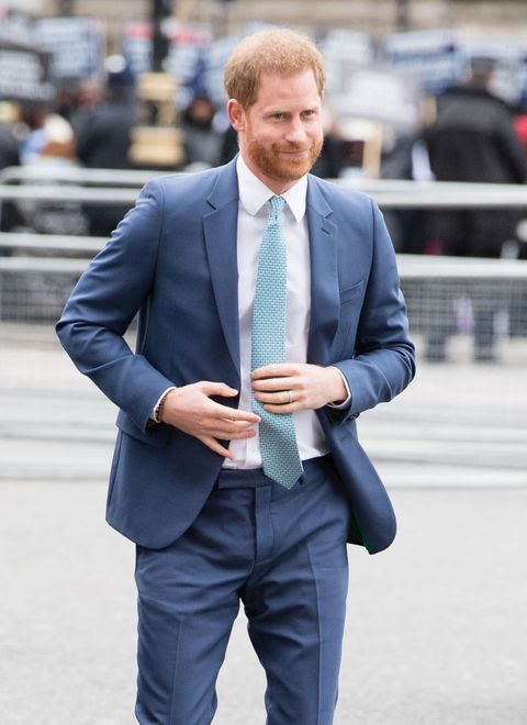 london, england   march 09  prince harry, duhcess of sussex attends the commonwealth day service 2020 on march 09, 2020 in london, england photo by samir husseinwireimage