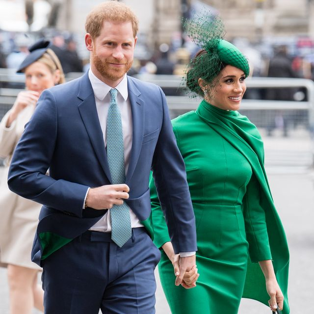 london, england   march 09  prince harry, duke of sussex and meghan, duchess of sussex attend the commonwealth day service 2020 on march 09, 2020 in london, england photo by samir husseinwireimage