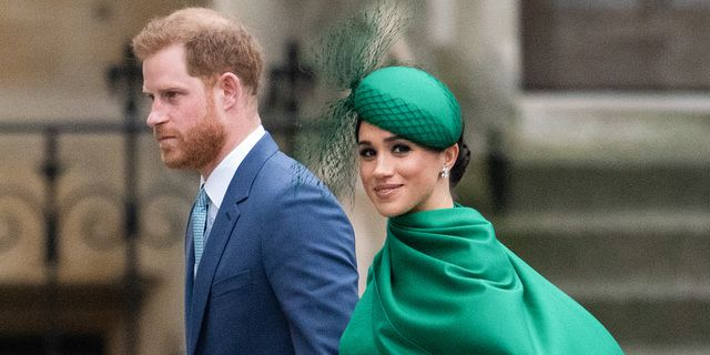 london, england   march 09 prince harry, duke of sussex and meghan, duchess of sussex attend the commonwealth day service 2020 on march 09, 2020 in london, england photo by gareth cattermolegetty images