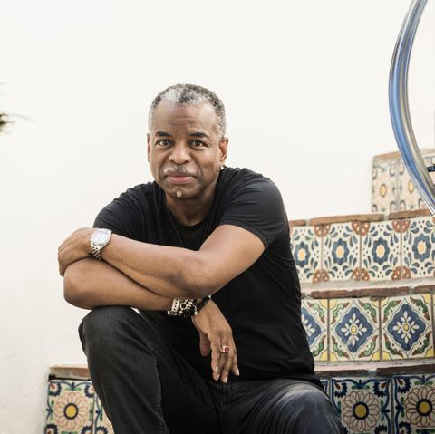 los angeles, ca   april 28, 2020 actor, director and podcaster levar burton poses for a portrait outside of his home on tuesday afternoon credit emily berl for the washington post via getty images