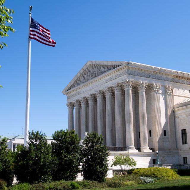 the us supreme court is seen in washington, dc, on may 4, 2020, during the first day of oral arguments held by telephone, a first in the courts history, as a result of covid 19, known as coronavirus photo by saul loeb  afp photo by saul loebafp via getty images
