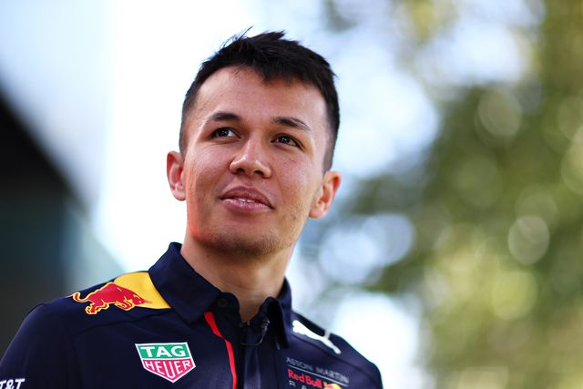 melbourne, australia   march 12 alexander albon of thailand and red bull racing looks on in the paddock during previews ahead of the f1 grand prix of australia at melbourne grand prix circuit on march 12, 2020 in melbourne, australia photo by dan istitene   formula 1formula 1 via getty images