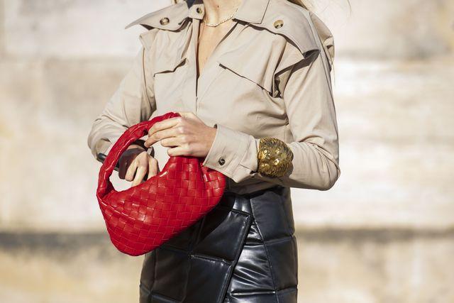 paris, france   february 25 digital influencer mascarada wears a bottega veneta shirt, skirt and bag on february 25, 2020 in paris, france photo by kirstin sinclairgetty images