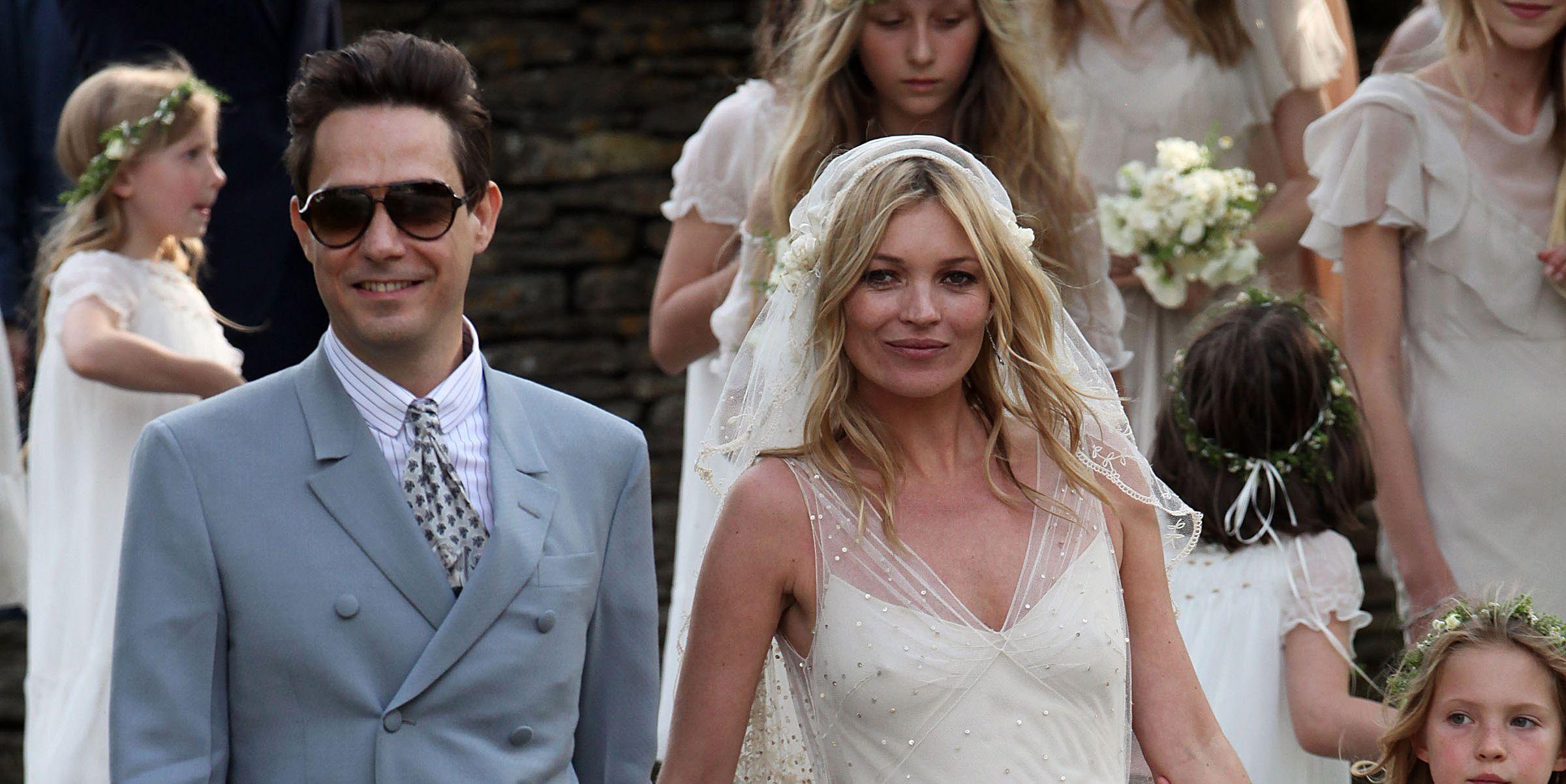 Kate Moss and Jamie Hince - Wedding