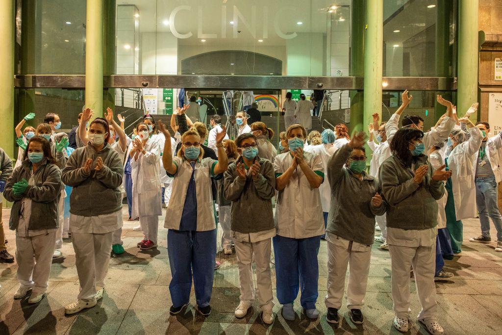 Los sanitarios de primera línea logran el premio Princesa de Asturias de la Concordia