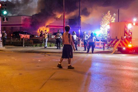 minneapolis, protest, police, george floyd