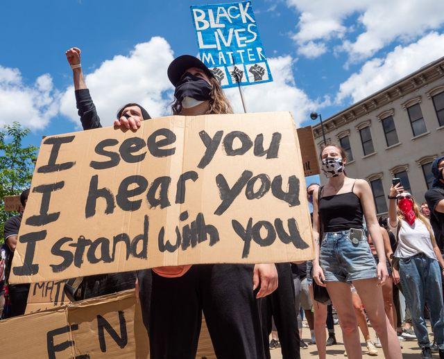 white ally black lives matter